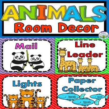 Animal Theme Classroom Decor