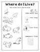 Animals and Habitats Unit Plan and Workbook