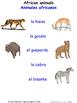 Animals and Nature in Spanish Matching Activities
