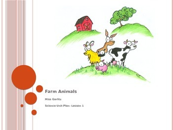 Animals and Their Habitats PowerPoint- 8 Lesson Science Un