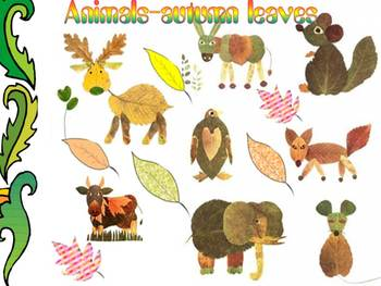 Fall - Crafts - Autumn leaves - Animals - PowerPoint presentation