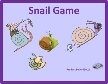Animals in English Snail game