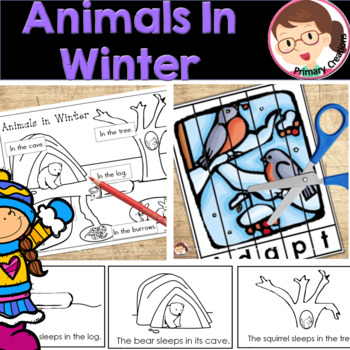 Animals in Winter FREEBIE