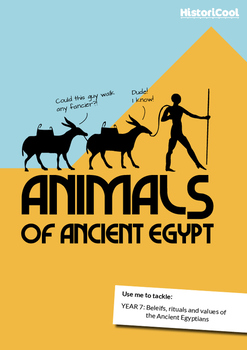 Animals of Ancient Egypt Resource Bundle