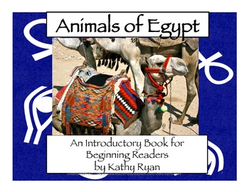 Animals of Egypt Informational Mini-Book for Beginning Readers
