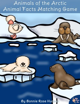 Animals of the Arctic: Animal Facts Matching Game