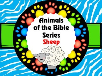 Animals of the Bible Series SHEEP
