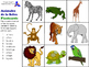 Animals of the Farm, Ocean & Jungle in Spanish (Flashcards