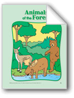 Animals of the Forest: Circle-Time Book