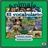 Animals of the World Vocabulary / Vocabulario de animales