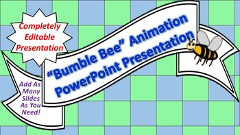 "Animated ""Bumble Bee"" PowerPoint Background"