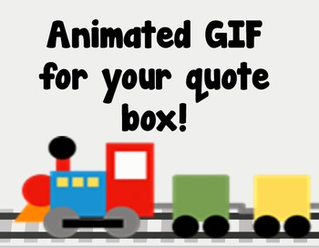 Animated Quote Banner - Hurry Don't Miss the Sale!