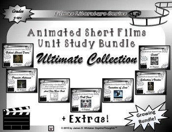 Animated Short Film Unit Study Bundle Ultimate Collection