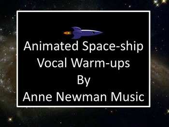 Animated Space-ship Vocal Explorations