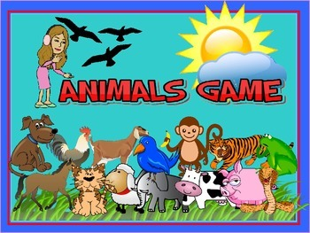 Animated animals game with animal sounds, Demo Class