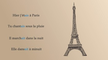 French the Imperfect Tense Video - L'imparfait vidéo (sample)