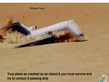 Animated survival plane crash critical thinking