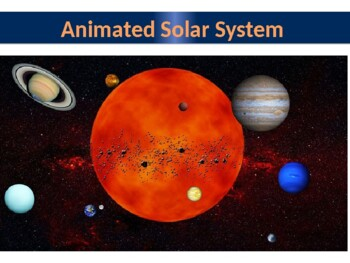 Animated Solar System