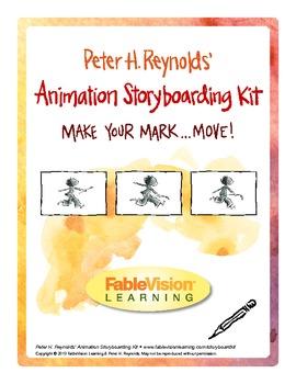 Animation Storyboarding Kit Peter H. Reynolds Step-by-Step