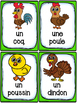 Animaux de la ferme - Cartes de vocabulaire (26) - French