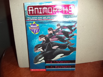 Animorphs:  The Mutation ISBN 0-439-10675-3