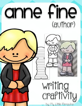 "Anne Fine ""Craftivity"" Writing page (Author of  Big Red Balloon)"
