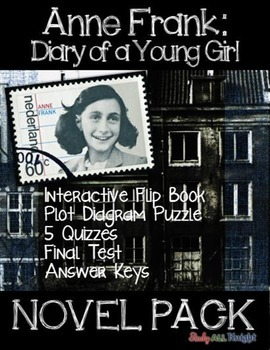 ANNE FRANK DIARY OF A YOUNG GIRL NOVEL STUDY LITERATURE GU