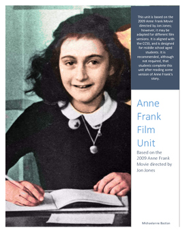 Anne Frank Film Unit *CCSS Aligned