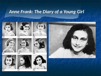 Anne Frank The Diary of a Young Girl PPT Summary By Page