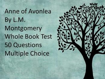 Anne of Avonlea Whole Book Test