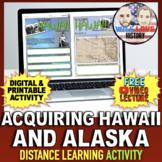 Annexing Hawaii and Alaska Activity