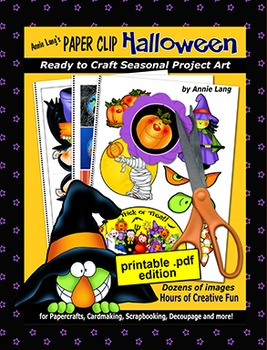 Annie Lang's Paper Clip Halloween