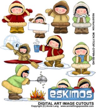 Annie's Eskimos Clipart