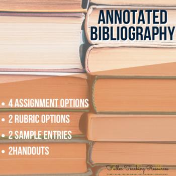 Annotated Bibliography MLA Format