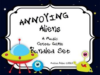 Annoying Aliens: A Bundled Center Rhythm Game for Kodaly a
