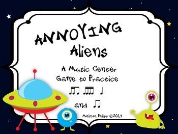 Annoying Aliens: A Center Game to Practice Tika-Ti, Tika-T