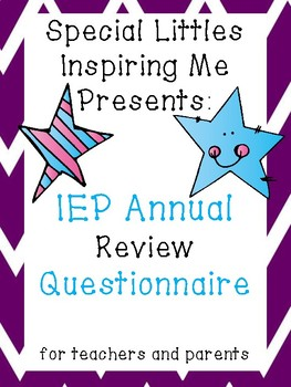 Annual Review Questionnaire