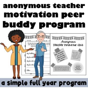 Anonymous Teacher Motivation Program for Burn Out Prevention