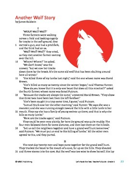 Another Wolf Story/The Boy and the Wolf - Literary Text Test Prep