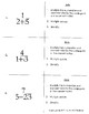Answer Cards: Rationalizing the Denominator