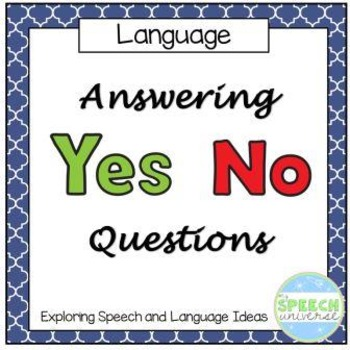 Answering Yes/No Questions
