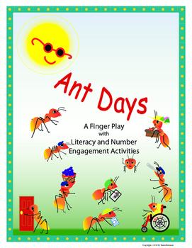 Ant Days Finger Play