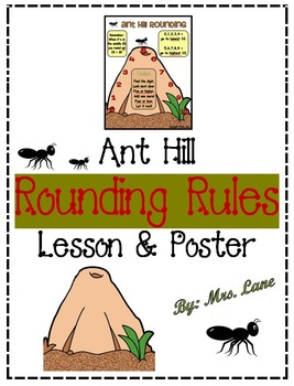 Ant Hill Rounding Rules Lesson And Poster