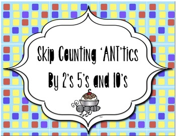 Ant skip counting to 50