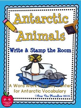 Antarctic Animals Polar Write / Stamp the Room Activity Pack