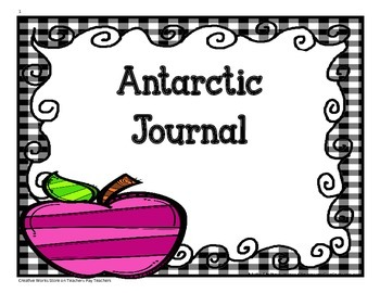 Antarctic Journal - Tri-folds + Activities