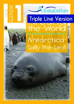 Antarctica (I): Sally the Seal (with 'Triple-Track Writing