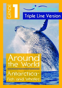 Antarctica (II): Fish and Whales (with 'Triple-Track Writi