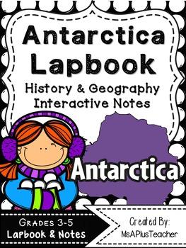 Antarctica Lapbook