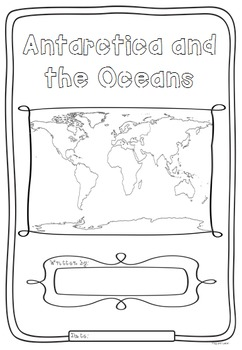 Antarctica and the Oceans of the World